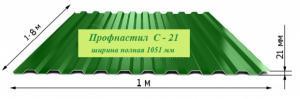 Профнастил С-21